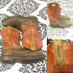 Ariat Maverick wide Square toe Steel toe Boots